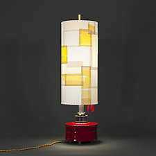 French Heels by Mark  Taylor and James Aarons (Mixed-Media Table Lamp)