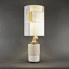 Goldstar by Mark  Taylor and James Aarons (Mixed-Media Table Lamp)