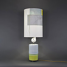 From the Morning by Mark  Taylor and James Aarons (Mixed-Media Table Lamp)