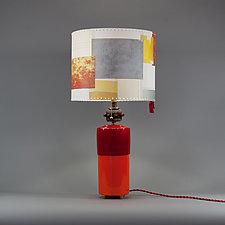Phantom Power by Mark  Taylor and James Aarons (Mixed-Media Table Lamp)