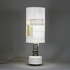 Sunday Under Glass by Mark  Taylor and James Aarons (Mixed-Media Table Lamp)