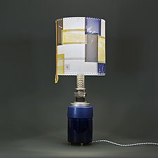Wandering Star by Mark  Taylor and James Aarons (Mixed-Media Table Lamp)