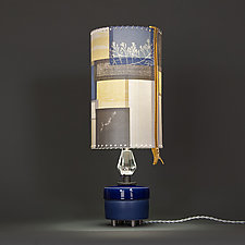 Big Science by Mark  Taylor and James Aarons (Mixed-Media Table Lamp)