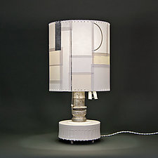 Under the Milky Way by Mark  Taylor and James Aarons (Mixed-Media Table Lamp)