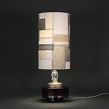 Bedazzled by Mark  Taylor and James Aarons (Mixed-Media Table Lamp)