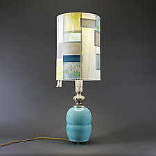 Summer Wind by Mark  Taylor and James Aarons (Ceramic Table Lamp)