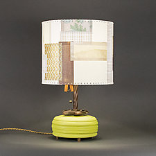 Oscillate Wildly by Mark  Taylor and James Aarons (Mixed-Media Table Lamp)