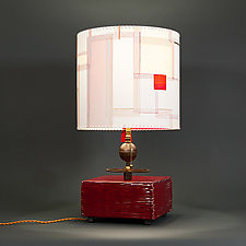 Everso by Mark  Taylor and James Aarons (Mixed-Media Table Lamp)