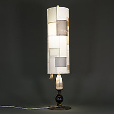 Margaret by Mark  Taylor and James Aarons (Mixed-Media Table Lamp)