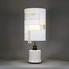 Morning Bell by Mark  Taylor and James Aarons (Mixed-Media Table Lamp)