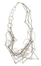 Circleline Necklace by Meghan Patrice  Riley (Steel Necklace)