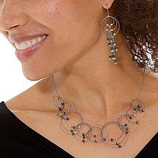 Vertigo Necklace by Meghan Patrice  Riley (Steel & Stone Necklace)