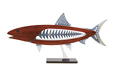 Bonefish by Mark Gottschalk (Wood & Metal Sculpture)
