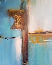 Blue Horizon 1 by Nicholas Foschi (Acrylic Painting)