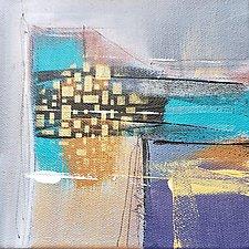 Gray Layered 5 by Nicholas Foschi (Acrylic Painting)