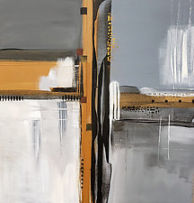 Gray Times1 by Nicholas Foschi (Acrylic Painting)