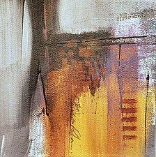 Gray Layered 3 by Nicholas Foschi (Acrylic Painting)