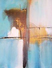 Blue Horizon 2 by Nicholas Foschi (Acrylic Painting)
