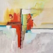 Geometric Movement by Nicholas Foschi (Acrylic Painting)