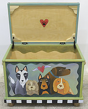 Must Love Dogs Chest by Sticks (Wood Chest)