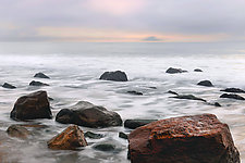 Alabaster Dawn by Richard Speedy (Color Photograph)