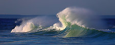 Sandy Point Wave by Richard Speedy (Color Photograph)