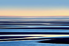 Tidal Flats Sundown by Richard Speedy (Color Photograph)