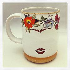 Frida's Mug and Espresso Cup by Chris Hudson and Shelly  Hail (Ceramic Mug)