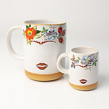 Frida?s Mug and Espresso Cup by Chris Hudson and Shelly  Hail (Ceramic Mug)