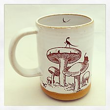 Dinosaur Island Mug by Chris Hudson and Shelly  Hail (Ceramic Mug)
