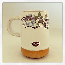 Frida's Mug and Espresso Cup by Chris Hudson and Shelly  Hail (Ceramic Mug)