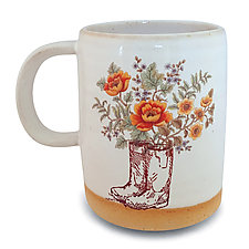 Take Me to the Garden Color Mug by Chris Hudson and Shelly  Hail (Ceramic Mug)