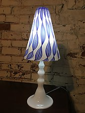 Aglow by Tyler Kimball (Art Glass Table Lamp)