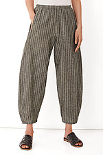 Striped Linen Riviera Pant by Lisa Bayne (Linen Pant)