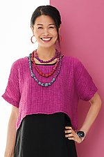 Pienza Ripple Topper by Lisa Bayne  (Woven Top)