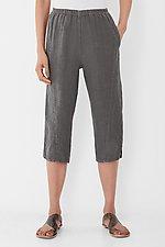 Linen Dash Capri by Lisa Bayne  (Woven Pant)