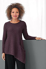 Aurora Textured Top by Lisa Bayne  (Knit Tunic)