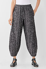 Textured Lantern Pant by Lisa Bayne  (Woven Pant)