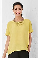 Venezia Linen Top by Lisa Bayne (Woven Top)