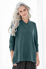 French Terry Dayna Top by Lisa Bayne  (Knit Top)