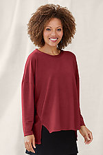 French Terry Piper Sweatshirt by Lisa Bayne  (Knit Top)