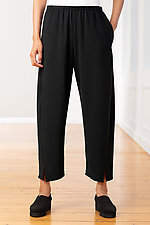 Crepe Notched Pant by Lisa Bayne  (Woven Pant)