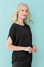 Draped Tee by Lisa Bayne  (Knit Top)