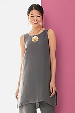 Ravello Linen Tunic by Lisa Bayne (Woven Tunic)