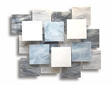 Glacial Accent Piece II by Karo Martirosyan (Art Glass Wall Sculpture)