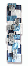 Arctic TT by Karo Martirosyan (Art Glass Wall Sculpture)