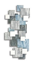 Glacial II by Karo Martirosyan (Art Glass Sculpture)
