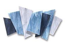 Ascend by Karo Martirosyan (Art Glass Wall Sculpture)