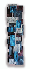 Electric TT by Karo Martirosyan (Art Glass Wall Sculpture)
