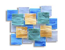 Enchanted Accent Piece by Karo Martirosyan (Art Glass Wall Sculpture)